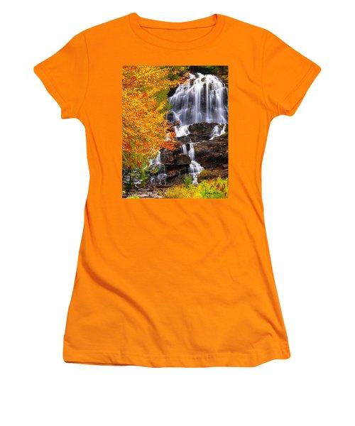Beaver Brook Falls Women's T-Shirt (Athletic Fit)