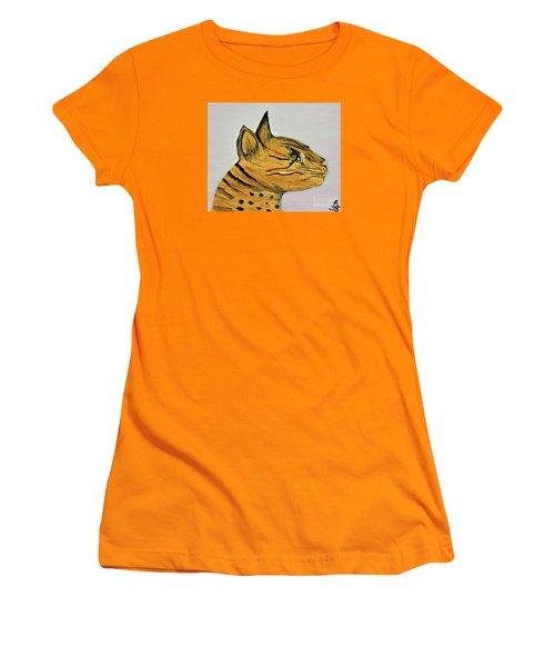 Bengal Cat  Women's T-Shirt (Athletic Fit)