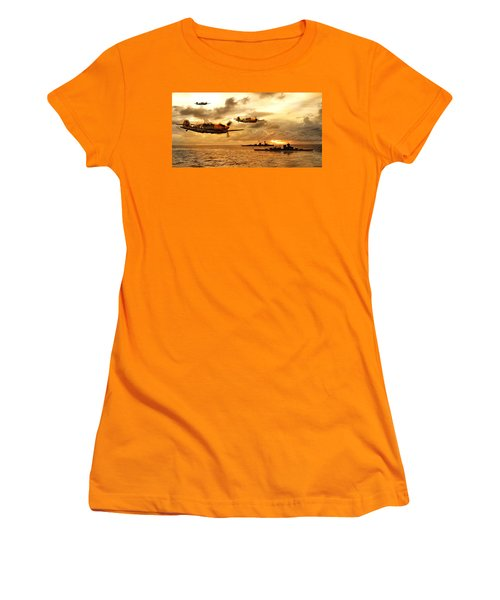 Bf 109 German Ww2 Women's T-Shirt (Athletic Fit)