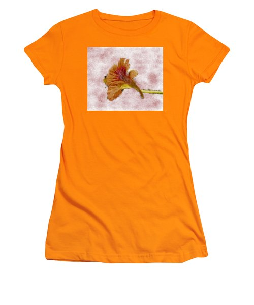Bindweed Paiterly 1.  Women's T-Shirt (Junior Cut) by Leif Sohlman