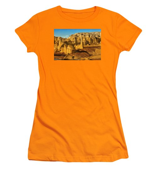 Bisti Badlands Fantasy Women's T-Shirt (Junior Cut) by Alan Vance Ley