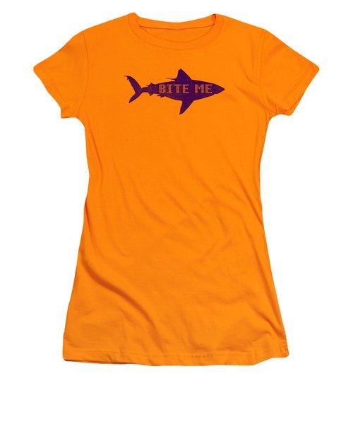 Bite Me Women's T-Shirt (Athletic Fit)