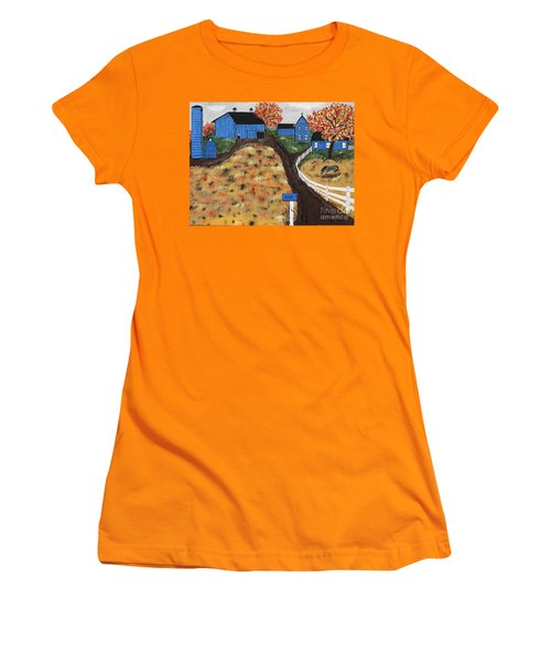 Blue Mountain Farm Women's T-Shirt (Athletic Fit)