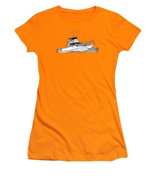 Sportfishing Women's T-Shirt (Athletic Fit)