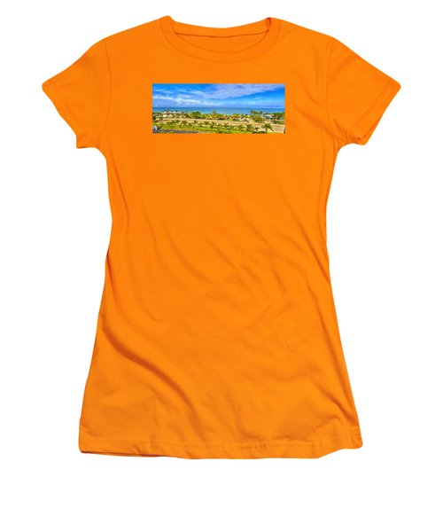 Bonita Beach Women's T-Shirt (Junior Cut) by Sean Allen