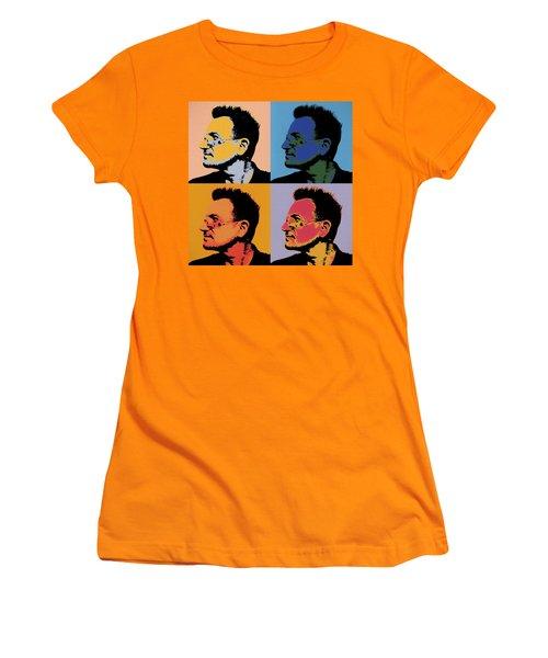 Bono Pop Panels Women's T-Shirt (Athletic Fit)