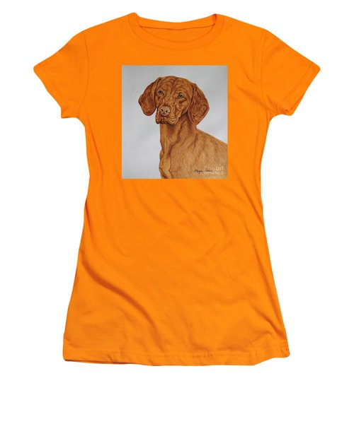 Boomer The Vizsla Women's T-Shirt (Athletic Fit)