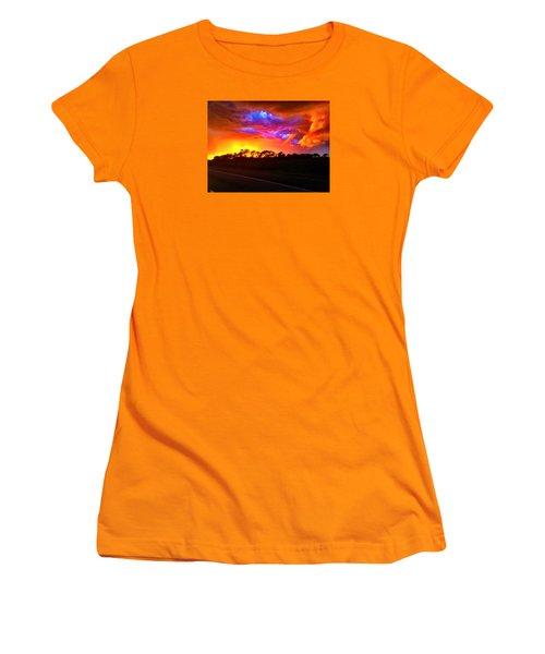 Borderline Women's T-Shirt (Junior Cut) by Zafer Gurel