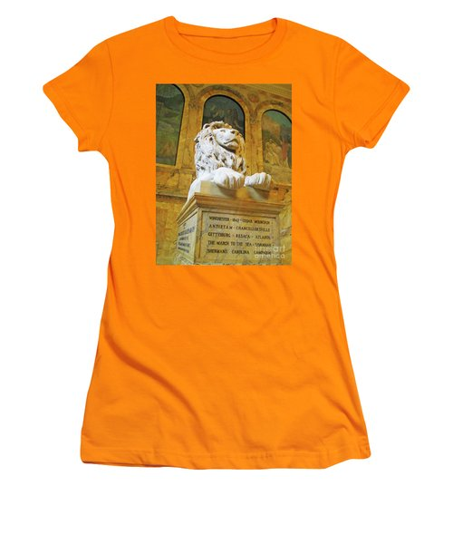 Boston Public Library 5 Women's T-Shirt (Athletic Fit)