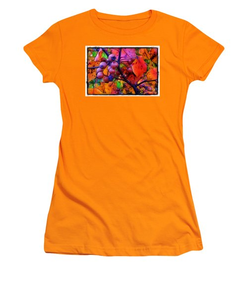 Bradford Pear In Autumn Women's T-Shirt (Athletic Fit)