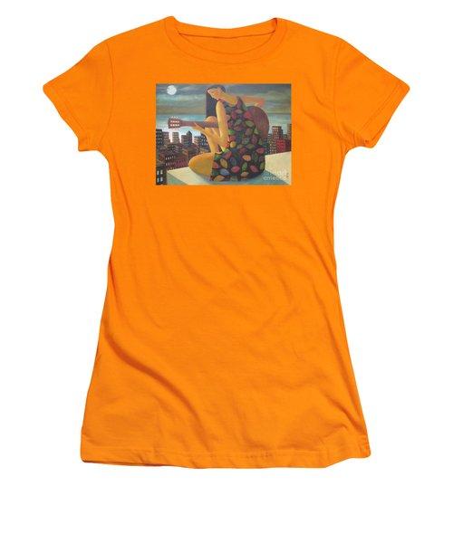 Brazil Women's T-Shirt (Junior Cut) by Glenn Quist