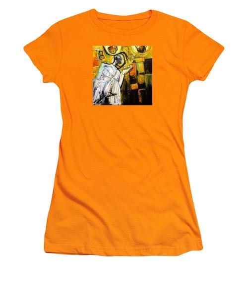 Breakfast On Park Road II Women's T-Shirt (Athletic Fit)