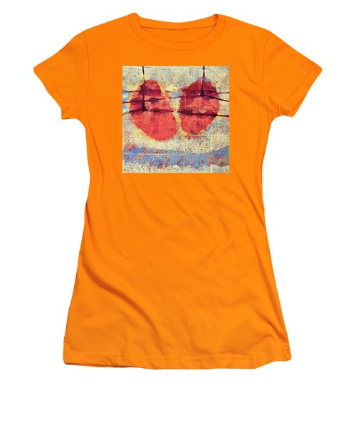 Breathe Women's T-Shirt (Junior Cut) by Maria Huntley