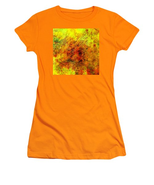Broken Women's T-Shirt (Junior Cut) by Ally  White