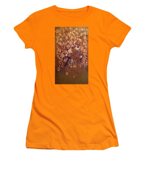 Bronze Beauty Women's T-Shirt (Athletic Fit)