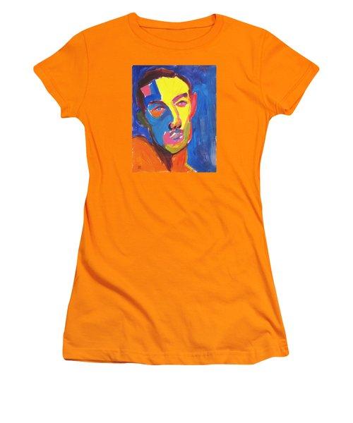 Bryan Portrait Women's T-Shirt (Junior Cut) by Shungaboy X