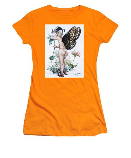 Bubble Butt Fairy Women's T-Shirt (Athletic Fit)