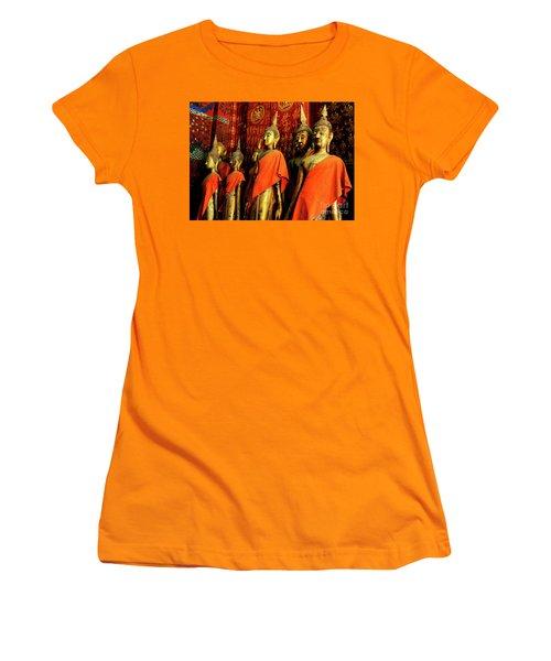 Buddha Laos 2 Women's T-Shirt (Junior Cut) by Bob Christopher