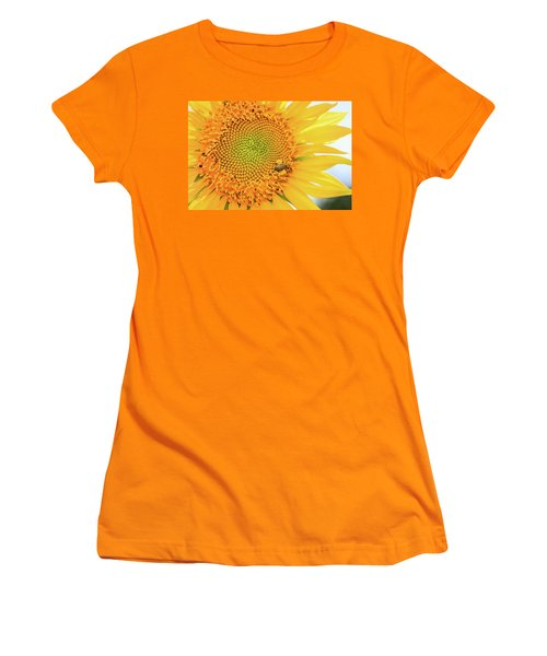 Bumble Bee With Pollen Sacs Women's T-Shirt (Athletic Fit)