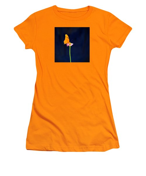 Butterfly Bloom Women's T-Shirt (Athletic Fit)