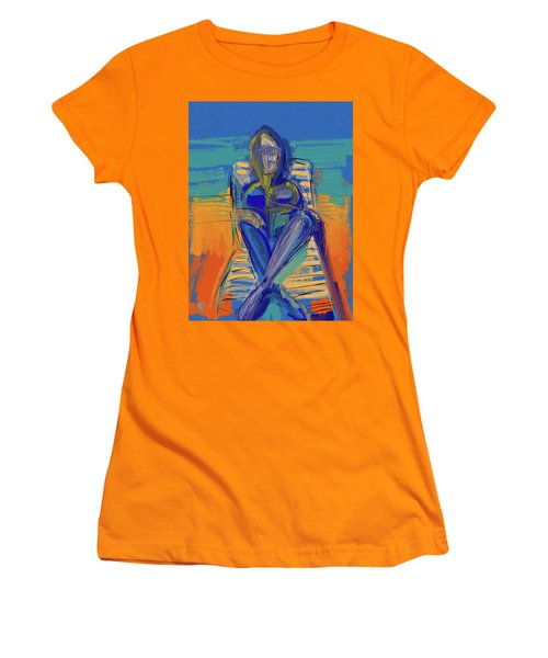 By The Sea Women's T-Shirt (Athletic Fit)