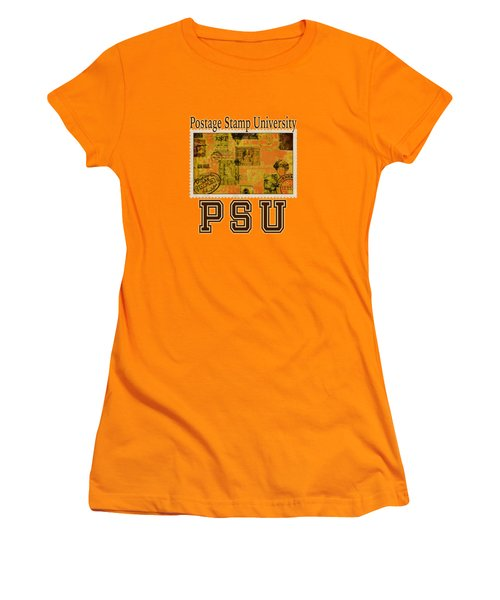 Bygone Postcard Women's T-Shirt (Junior Cut) by Richard Farrington