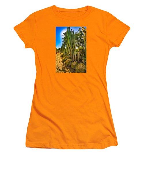 Cactus Promenade Women's T-Shirt (Athletic Fit)