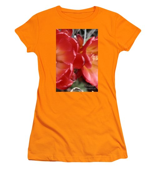 Cactus Reds Women's T-Shirt (Junior Cut)