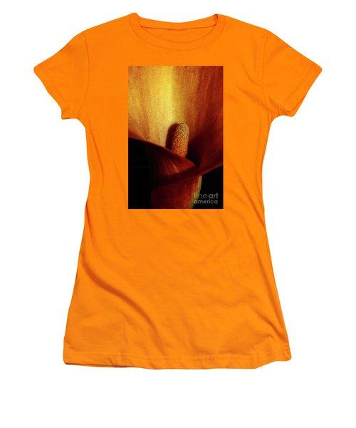 Calla Lily Women's T-Shirt (Junior Cut) by Ana Mireles