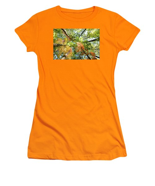 Canadian Foliage Women's T-Shirt (Athletic Fit)