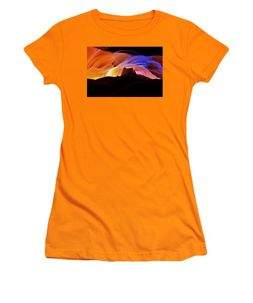 Women's T-Shirt (Junior Cut) featuring the photograph Canyon Antelope by Evgeny Vasenev