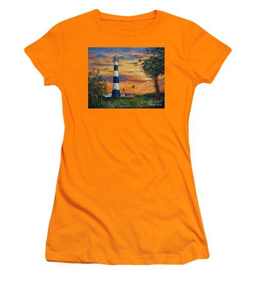 Cape Canaveral Light Women's T-Shirt (Junior Cut) by AnnaJo Vahle
