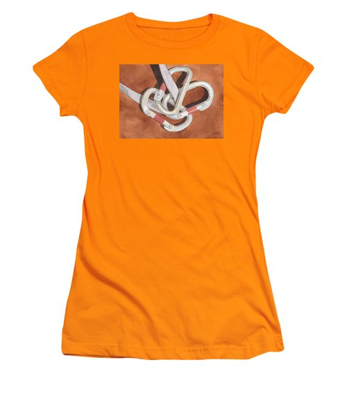 Carabiners Women's T-Shirt (Athletic Fit)