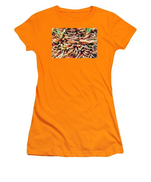 Carrots Women's T-Shirt (Junior Cut) by Ian MacDonald