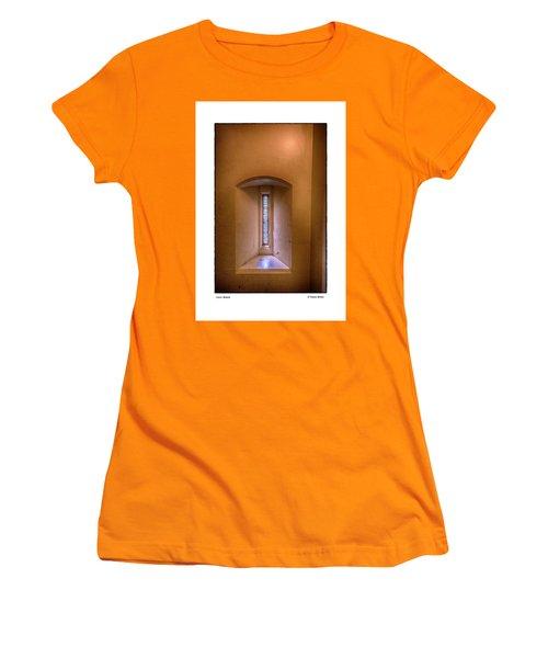 Castle Window Women's T-Shirt (Junior Cut) by R Thomas Berner