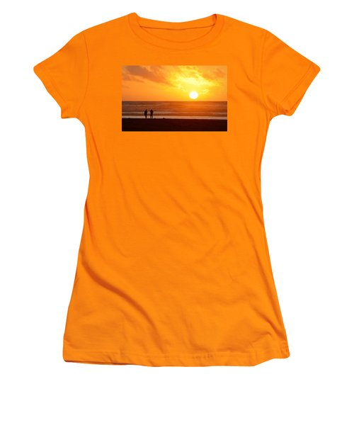 Catching A Setting Sun Women's T-Shirt (Athletic Fit)