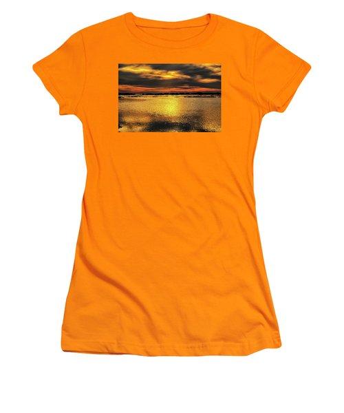 Women's T-Shirt (Junior Cut) featuring the photograph Ceader Key Florida  by Louis Ferreira