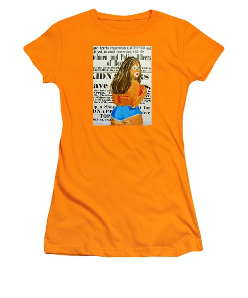 Cece Caution Women's T-Shirt (Athletic Fit)