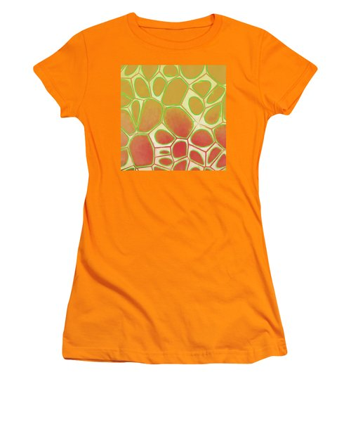 Cells Abstract Five Women's T-Shirt (Junior Cut) by Edward Fielding