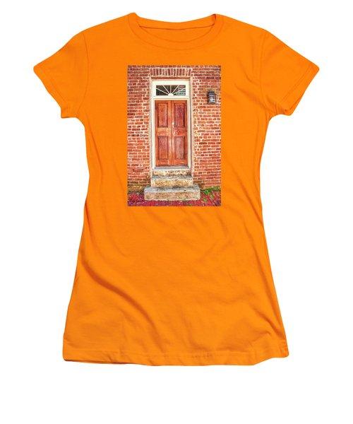 Charleston Doors 1 Women's T-Shirt (Athletic Fit)