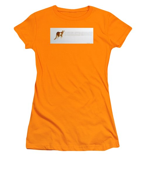 Cheetah And Zebras Women's T-Shirt (Athletic Fit)