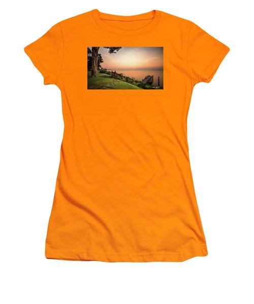 Chesapeake Morning Women's T-Shirt (Athletic Fit)