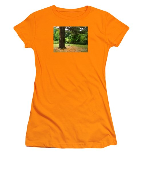 Women's T-Shirt (Junior Cut) featuring the photograph Childhood by Betsy Zimmerli