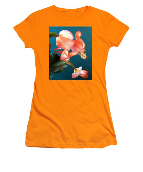 Christmas Cactus Women's T-Shirt (Athletic Fit)
