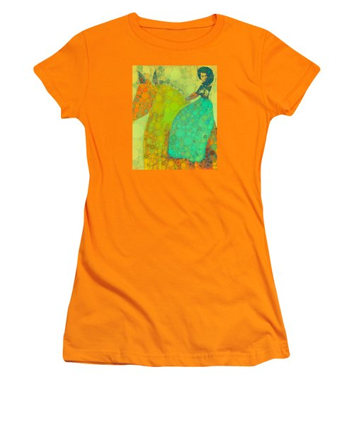 Circus Pony 4 Women's T-Shirt (Athletic Fit)