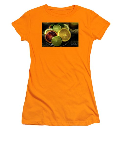 Citrus Platter Women's T-Shirt (Athletic Fit)