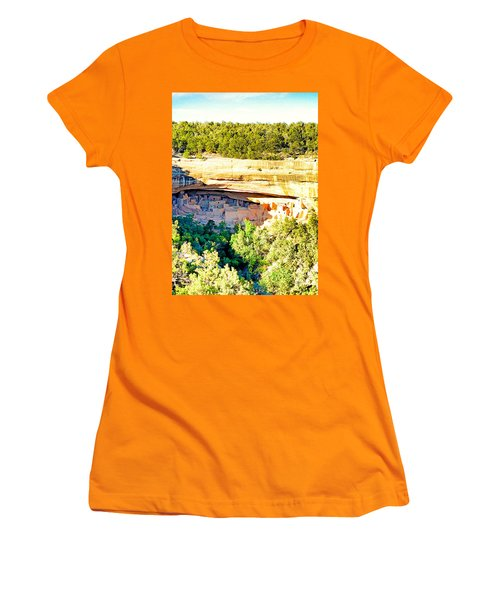 Cliff Palace Study 1 Women's T-Shirt (Athletic Fit)