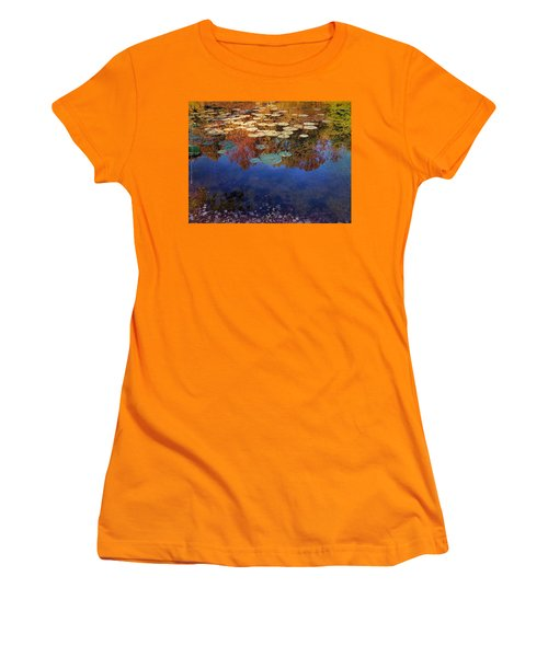 Close By The Lily Pond  Women's T-Shirt (Athletic Fit)