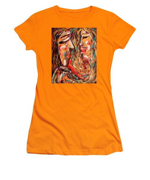 Close Encounter Women's T-Shirt (Junior Cut) by Natalie Holland