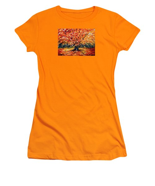 Clothed With Splendor Women's T-Shirt (Junior Cut) by Meaghan Troup